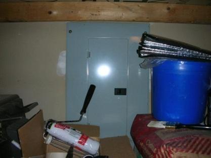 Improper storage of supplies